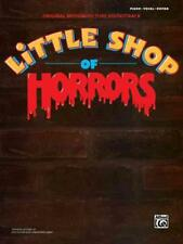 LITTLE SHOP OF HORRORS - MENKEN, ALAN (COP) - NEW PAPERBACK BOOK