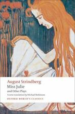 MISS JULIE AND OTHER PLAYS - STRINDBERG, AUGUST/ ROBINSON, MICHAEL (TRN) - NEW P
