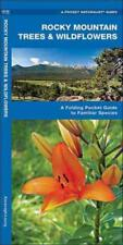 ROCKY MOUNTAIN TREES AND WILDFLOWERS - NEW PAPERBACK BOOK