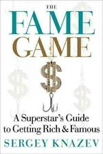 FAME GAME - NEW HARDCOVER BOOK