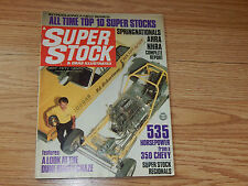 SUPER STOCK & DRAG ILLUSTRATED Racing Magazine ~ September 1968