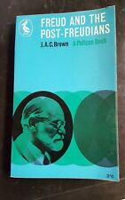 VINTAGE 1961 1st EDITION FREUD AND THE POST FREUDIANS PELICAN PENGUIN BOOK