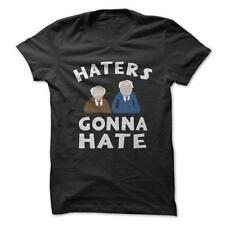 Muppets Haters Gonna Hate - Muppets Funny T-Shirt Short Sleeve 100% Cotton NEW