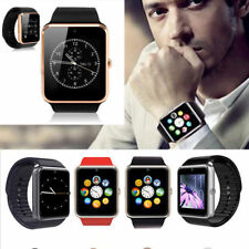GT08 MTK 1.54'' 0.3MP Smart Watch Clock w/ SIM Card For Android Huawei