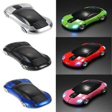 2.4GHz 3D Optical Wireless Mouse Mice Car Shape 1600DPI USB Receiver PC Laptop