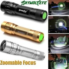 15000LM 3 Modes Flashlight CREE XML T6 LED 18650 Zoomable Torch Camping Lamp N