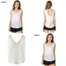 Ladies Chiffon Blouses Mesh Stitching Shirts Women's Clothing Tops & Blouses New