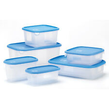 Food Storage Set 12 Piece Deluxe includes Six Assorted Container and 6 Lids WOW