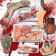 Halloween Horror Props Chop Shop Body Parts Bloody Party Decorations