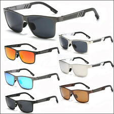 Men's Polarized Sunglasses Mens Driving Retro Vintage Aluminum Magnesium Eyewear