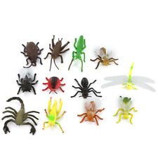 Plastic Zoo Jungle Wild Animals Figures Bugs Insects Kids Toy Party Bag Favor