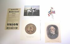 Civil War Lee on Traveler, Seal of Confederacy, Flags of Confederacy and more