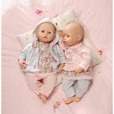 Zapf Creation baby annabell deluxe doll outfit clothes set age-3