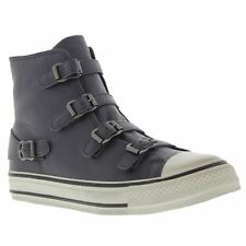 Ash Virgin Graphite Womens High Top Leather Trainers