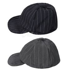 Baby Kids Boy Striped Newsboy Baseball Cap Duck Bill Hat Cap Sun Hat Irish Cap