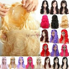 Charming Color Women Cosplay Full Wig Long Straight Costume Wig Silvery Grey vtr