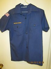 BSA/Boy, Cub Scout Navy Blue Shirt, Short Sleeve Youth/Boys - 20