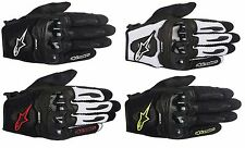 ALPINESTARS SMX-1 AIR LEATHER GLOVES MENS LIGHTWEIGHT - CHOOSE SIZE AND COLOR
