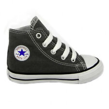 Converse All Star Hi Top Infant Kids Trainer Charcoal