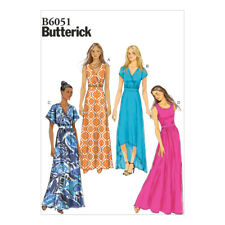 Butterick Misses Sewing Pattern 6051 Dress