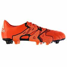 adidas X 15.1 Leather FG Firm Ground Football Boots Mens Or Soccer Cleats Shoes