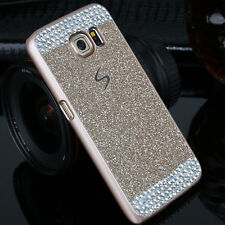 Luxury Bling Glitter Crystal Hard Plastic Case Cover For Samsung Galaxy S7 Edge