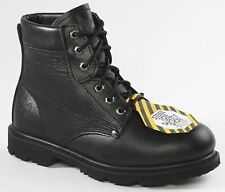 Rhino 65S01 Mens Black STEEL TOE Safety Work Boots