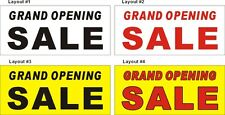 2ftX4ft Custom Printed GRAND OPENING SALE Banner Sign