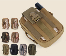 Men Outdoor Tactical Oxford Cloth Hiking Sports Tool Waist Pack 5 Colors