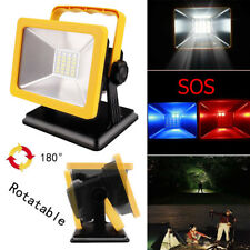15W 24LED Portable Rechargeable Camping Spotlights Emergency Work Light Lamp New