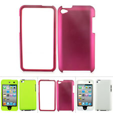 For Apple iPod Touch 4 4G 4th Gen Colorful Rubberized Hard Matte Case Cover