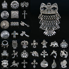 Wholesale Tibetan Silver Animal Charm Pendant Jewelry Making Necklace Bracelet