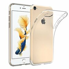 APPLE IPHONE 7 ULTRA-THIN TPU SILICONE GEL CASE COVER WITH FREE SCREEN PROTECTOR