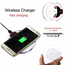 Universal Wireless Qi Charging Phone Charger Dock For Samsung Galaxy S6 S7 CAN