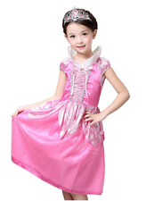 Disney Sleeping Beauty Princess Aurora / Briar Rose Costume for Girls 4-10