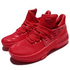 adidas D Lillard 3 J Damian Roots Dame 3 Red Junior Basketball Shoes BW0481
