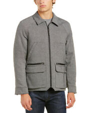 Victorinox Swiss Army Full Zip Wool-Blend Shirt Jacket