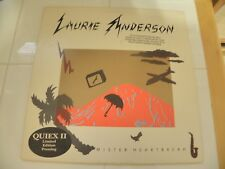 Laurie Anderson Limited Edition Quiex II Audiophile Vinyl Lp Mister Heartbreak