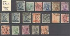 """KMC_11 - MINI COLLECTIONS (ITALY KINGDOM)- Collection of """"MICHETTI"""" stamps. Used"""