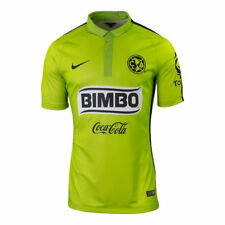 NIKE CLUB AMERICA AUTHENTIC MATCH THIRD JERSEY 2015 Atomic Green.