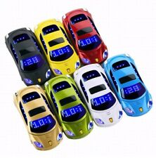NEW Luxury LED Sport Car Dual Sim Unlocked Mobile Phone Cell Phone