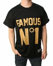 Famous Stars and Straps Mens First String Mesh Jersey, Black