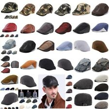 Men Women Newsboy Beret Cap Cotton Gatsby Flat Driving Cabbie Golf Ivy Hat