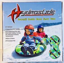 Snow Tube Sleds Child Double Seat Skiing Snowboard Inflatable Hydroslide