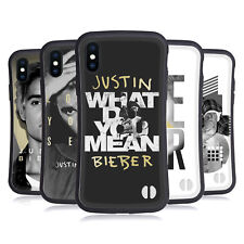 OFFICIAL JUSTIN BIEBER PURPOSE B&W HYBRID CASE FOR APPLE iPHONES PHONES