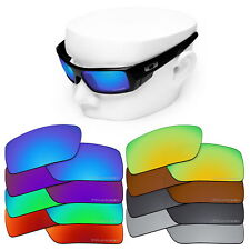 OOWLIT Iridium Replacement Lenses for-Oakley Gascan Sunglasses OO9014 Polarized