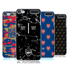 PERSONALISED ARSENAL FC 2017/18 CREST AND LOGO CASE FOR APPLE iPOD TOUCH MP3