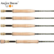 Fast Action Fly Rod 3 4 5 8WT 36T Carbon Fiber /Graphite IM10 Fly Fishing Rod