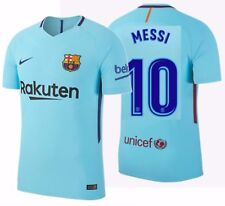 NIKE LIONEL MESSI FC BARCELONA AUTHENTIC VAPOR MATCH AWAY JERSEY 2017/18.