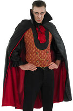 MENS VAMPIRE COUNT DRACULA COSTUME HALLOWEEN FANCY DRESS ADULT GOTHIC VAMP